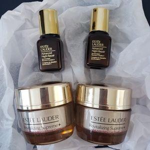 Estee Lauder revitalizing creme, night repair